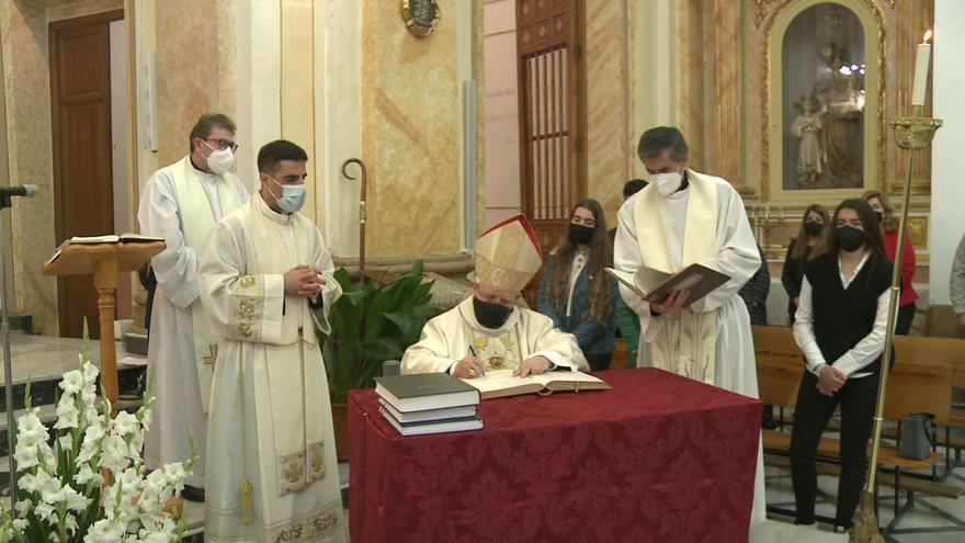 El obispo llega este fin de semana a Elda en visita pastoral