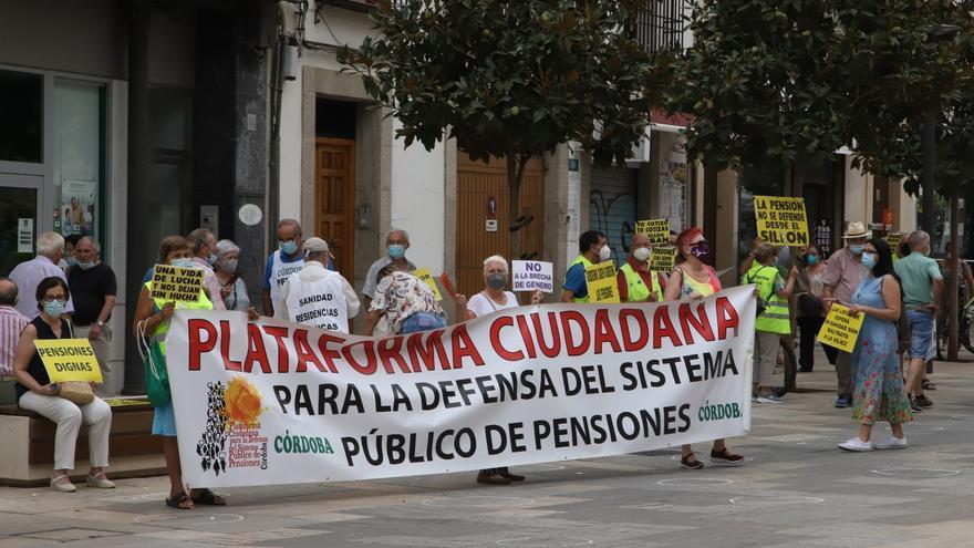 Los pensionistas cordobeses llaman a participar en la manifestación del 16 de octubre en Madrid
