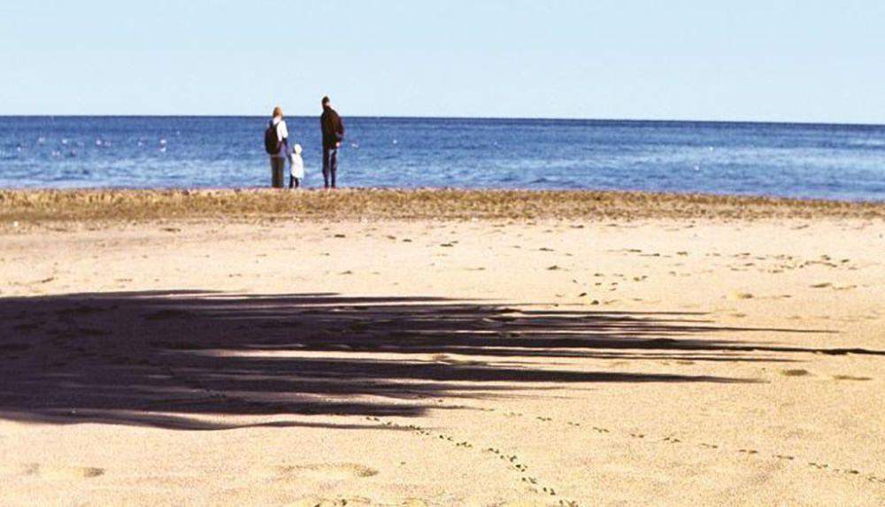 La playa de la fuente de la Salud, en Benalmádena.