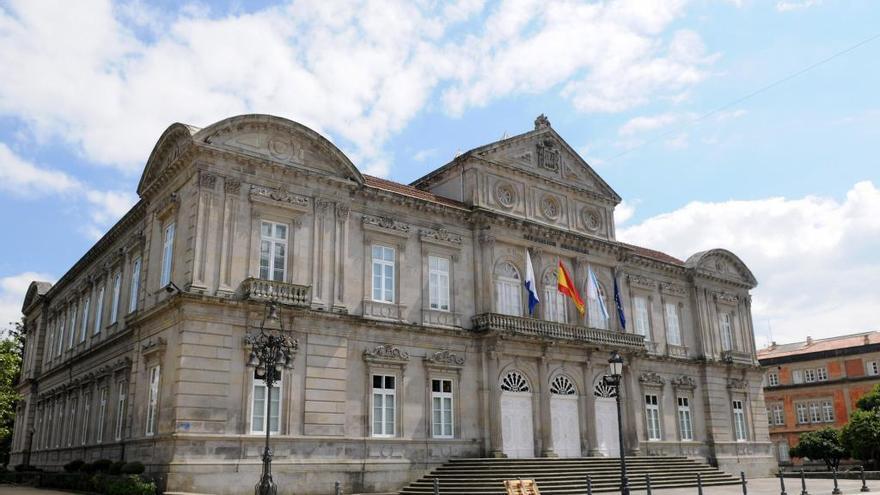Tres positivos en la Diputación de Pontevedra y otros dos en los juzgados