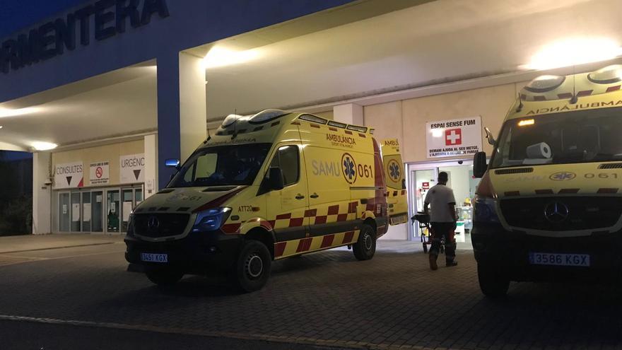Los técnicos sanitarios denuncian la existencia de una única ambulancia de urgencias en Formentera