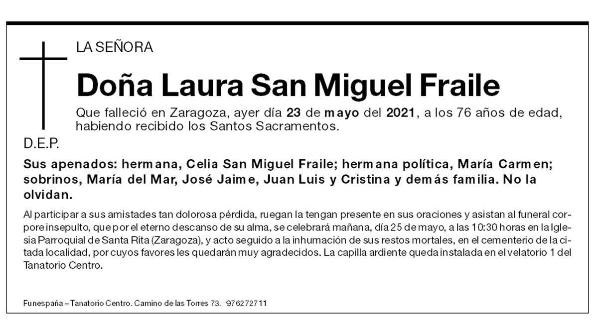 Laura San Miguel Fraile