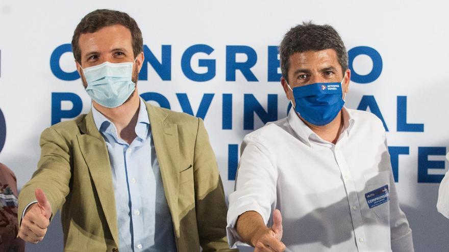 Carlos Mazón rearma al PP en la provincia y renovará 50 asambleas locales en tres meses