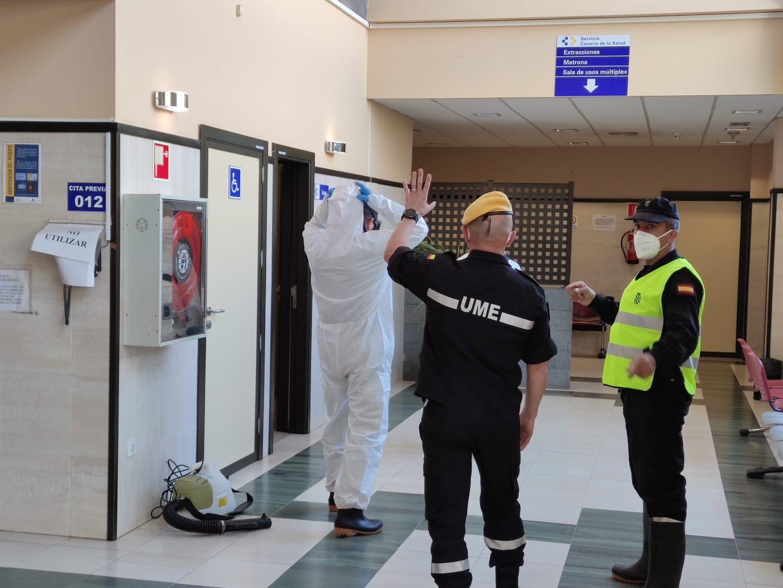 La UME vuelve a intervenir en Lanzarote ante el avance del coronavirus