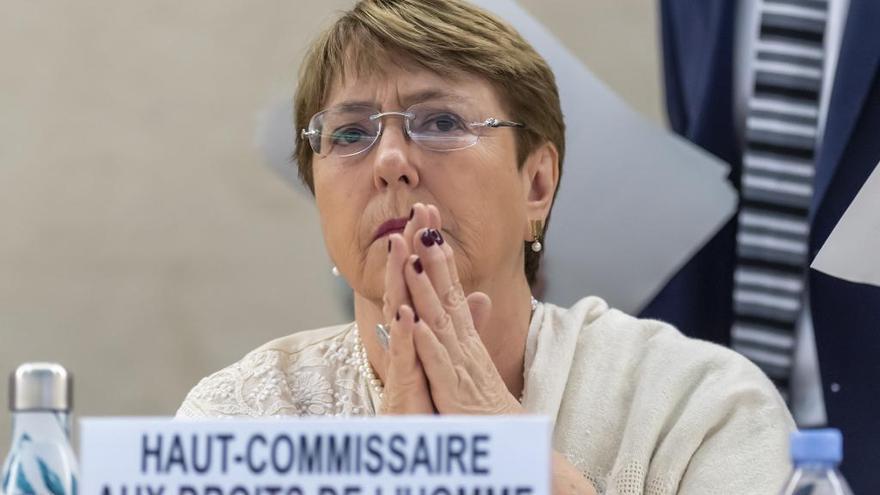 """Bachelet: """"los venezolanos merecen una vida mejor"""""""