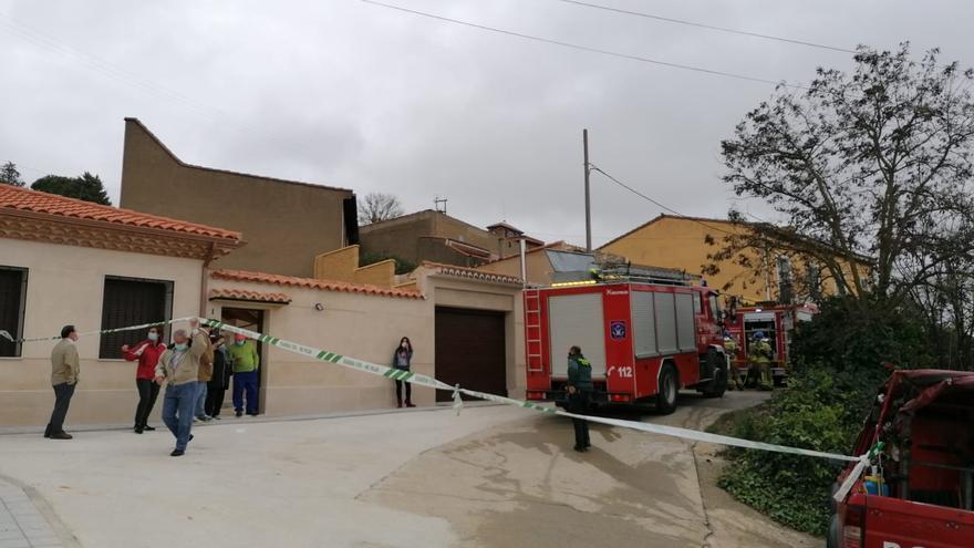 VÍDEO | Muere un matrimonio tras incendiarse su vivienda en Toro.