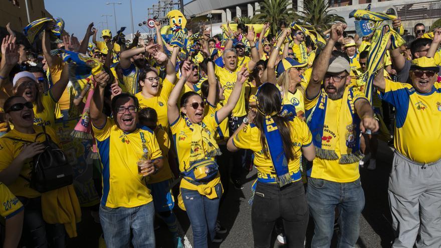 El Gran Canaria y los 32.000 sufridores de la UD volverán a latir 533 días después