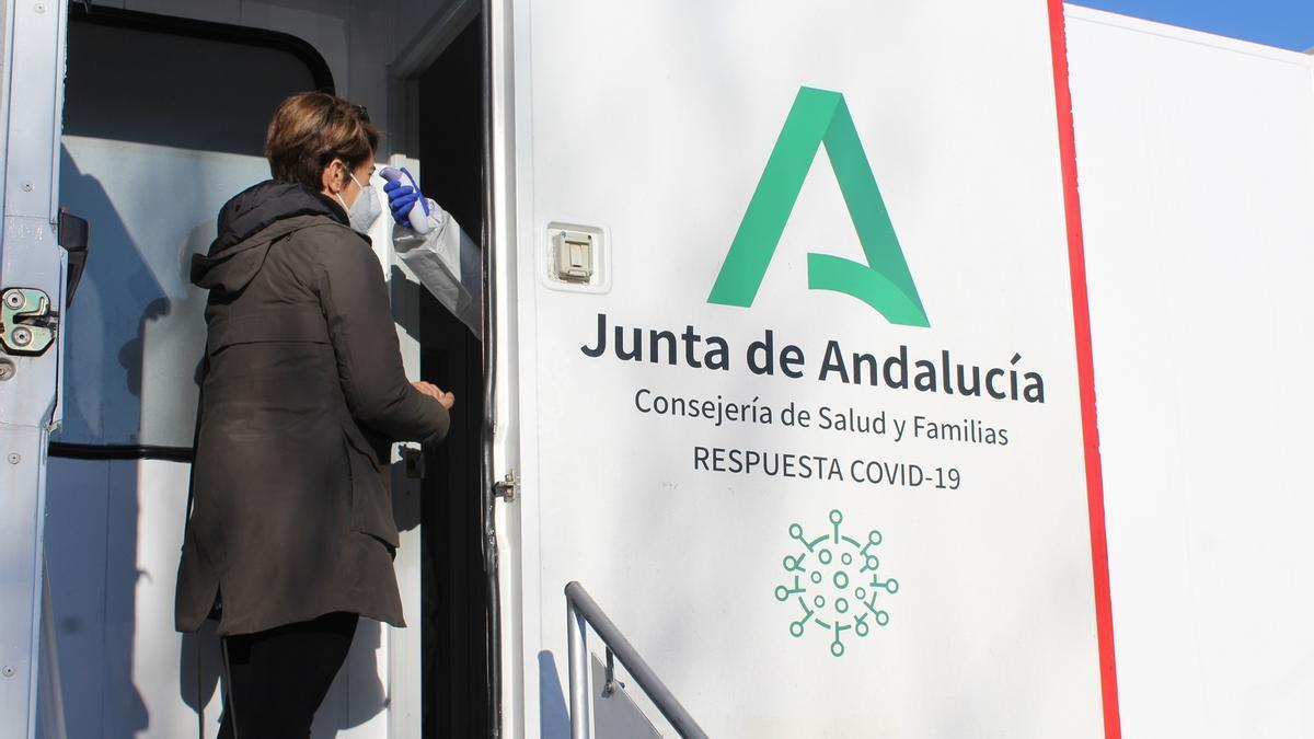 Cribado poblacional celebrado en enero de 2021 en Fuengirola