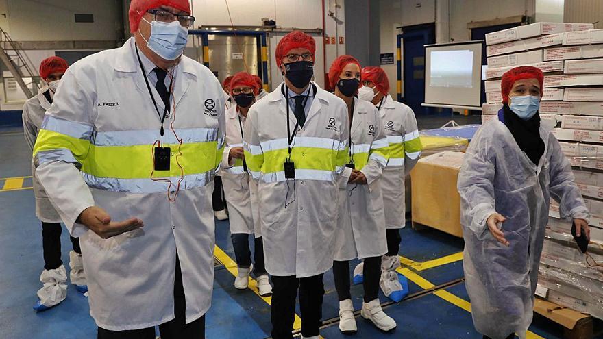 Iberconsa alcanza los 150 empleos en la planta de Bouzas tras invertir 15 millones