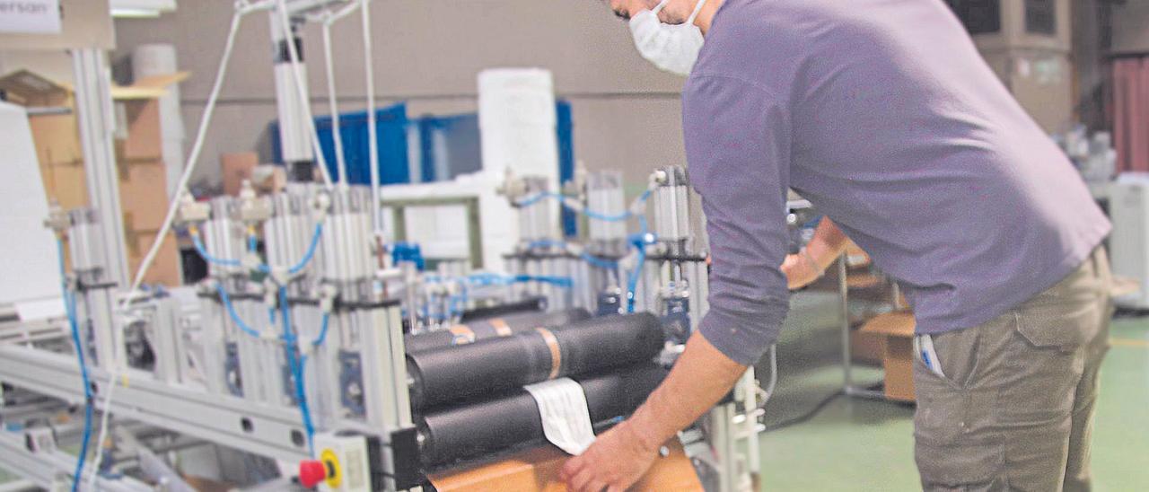 Proceso de fabricación de mascarillas