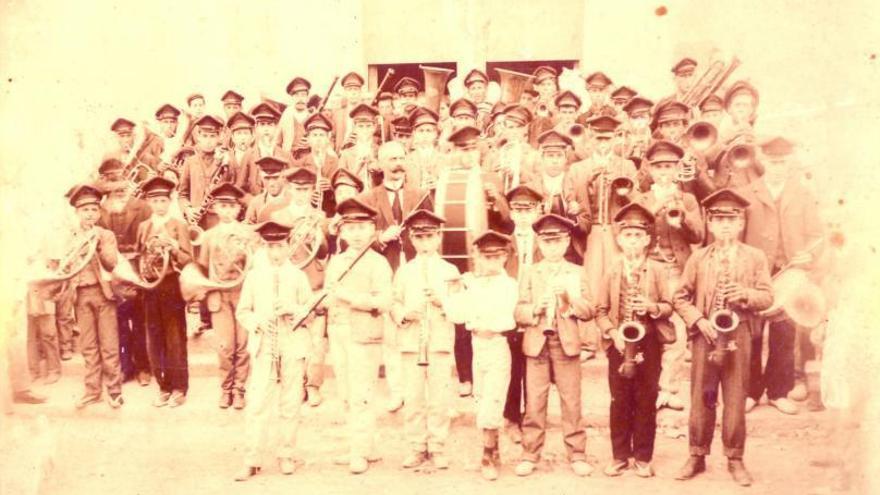 La banda de la Pobla ja existia al segle XIX