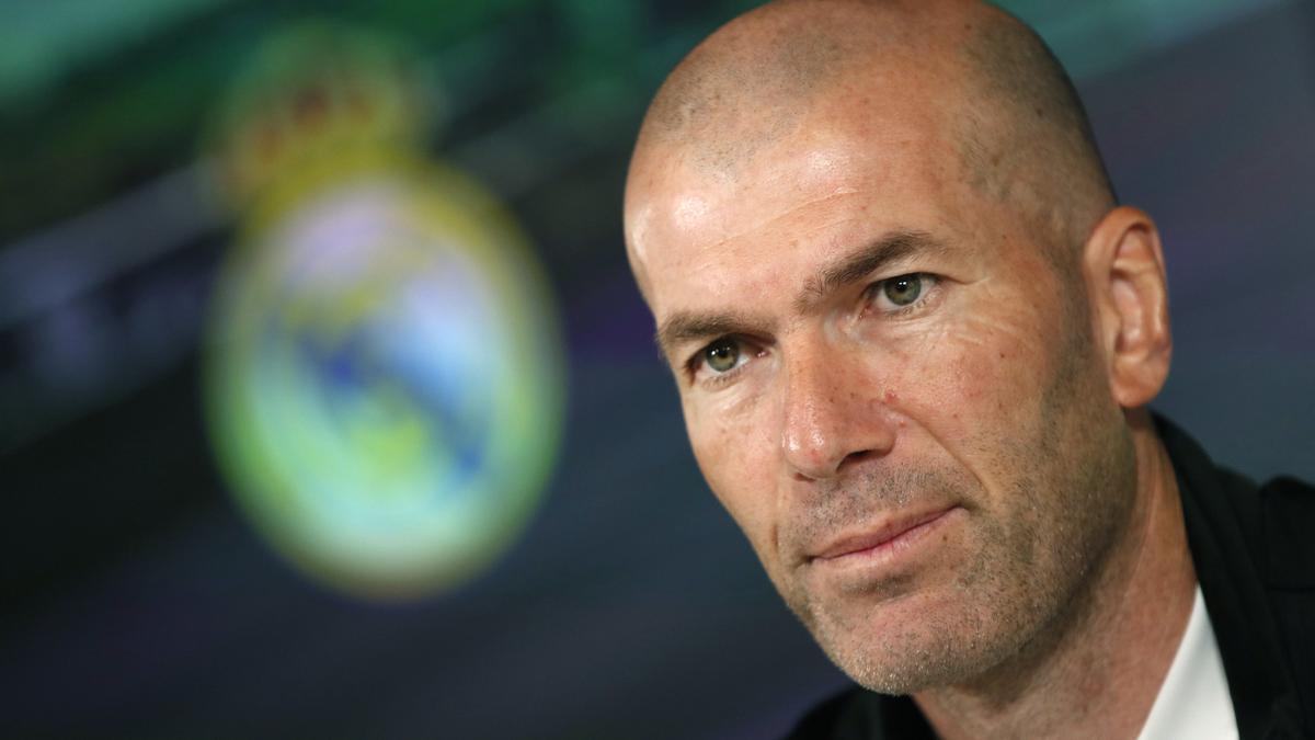 Zidane deja el banquillo del Real Madrid.