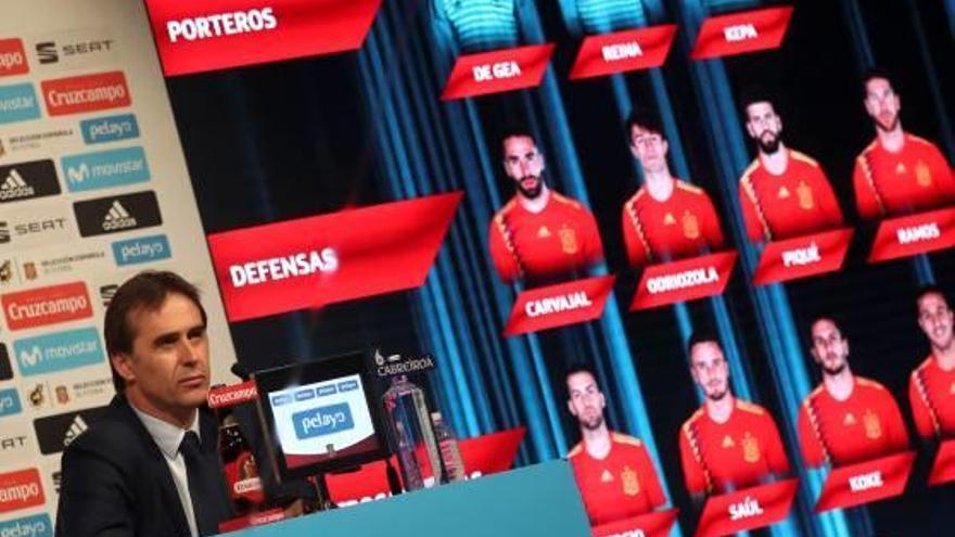 Lopetegui aposta per una llista sense Sergi Roberto i amb només 3 davanters