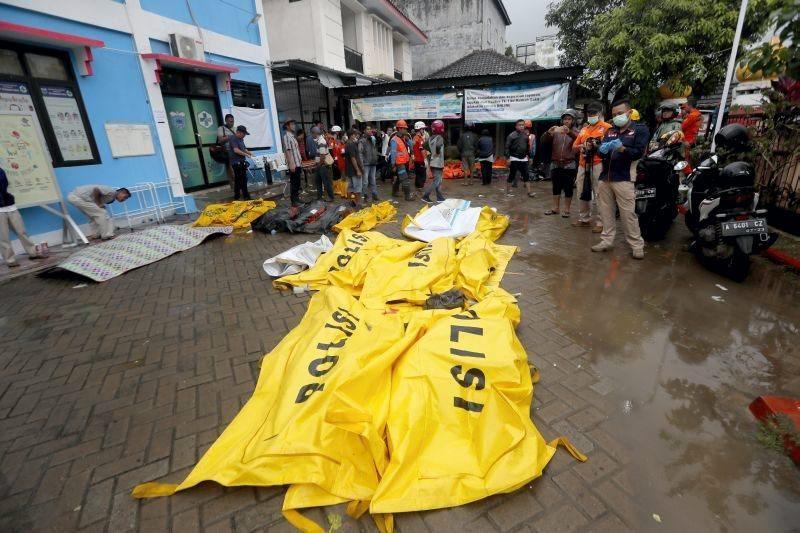 Imágenes de la catástrofe en Indonesia