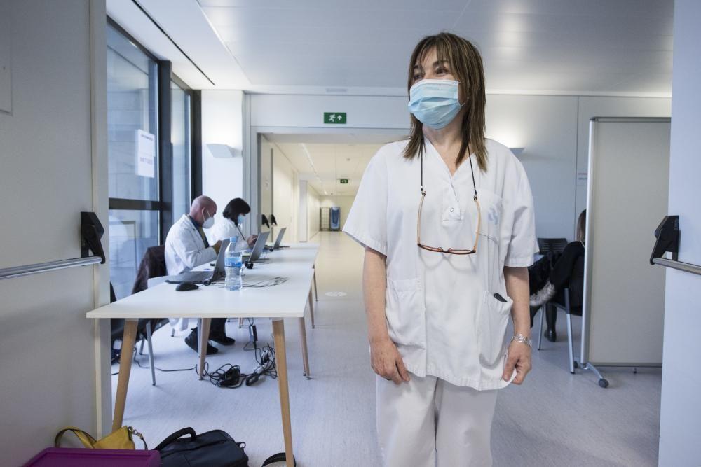 Vacunació a l'Hospital Sant Joan de Déu