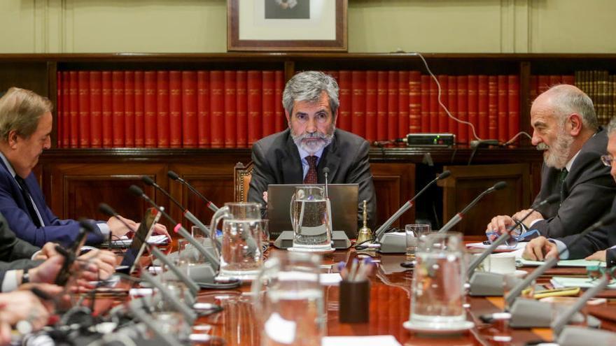 Vocales piden al Congreso que solicite un informe al CGPJ sobre el plan del PSOE y UP