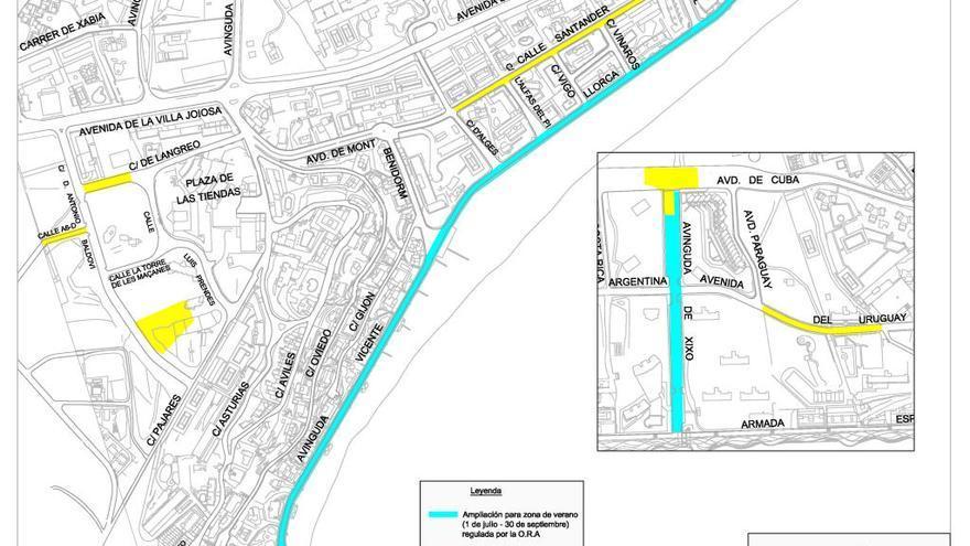 La Cala de Benidorm tendrá 300 plazas de aparcamiento exclusivo para residentes