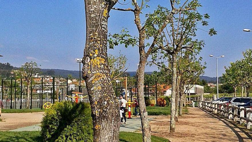 Meaño habilita en Os Pasales un área para autocaravanas