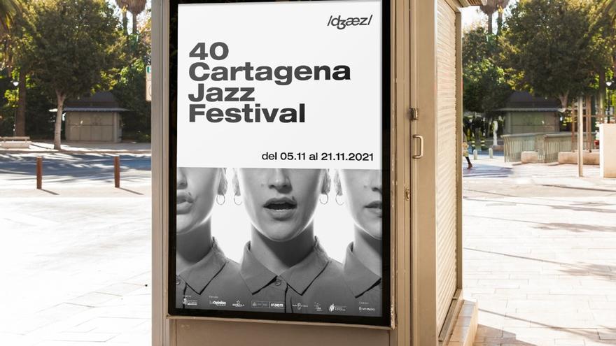 Julio Cortázar inspira el cartel del cuarenta aniversario del Cartagena Jazz Festival
