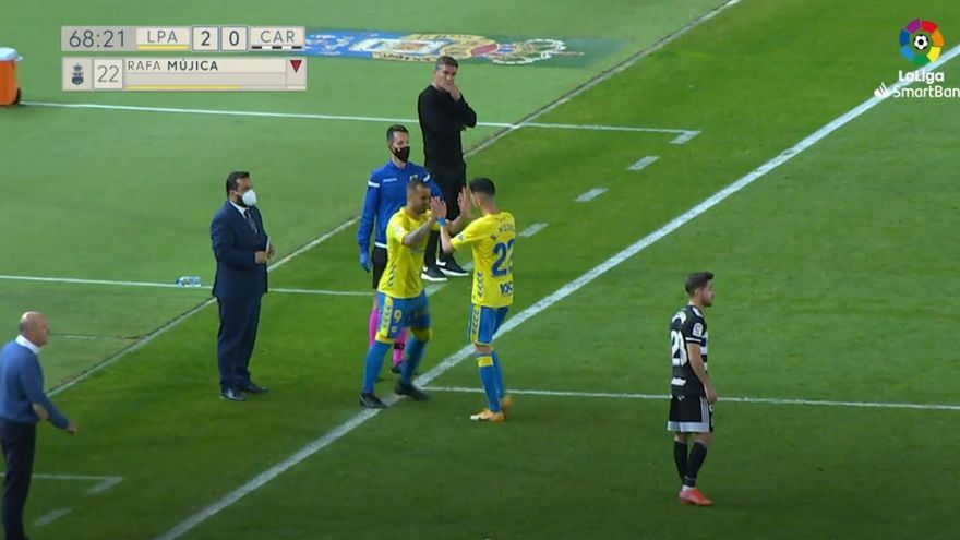 Vídeos de los goles, VAR, debut de Jesé y resumen del partido UD Las Palmas 2 - 0 FC Cartagena