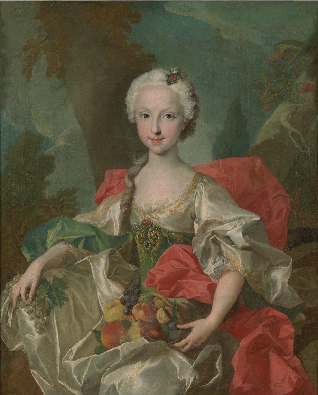 Louis-Michel van Loo, María Teresa de Borbón, infanta de España (h.1737).jpg