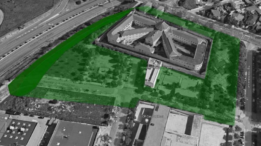 Das sind die Pläne für das Gelände des alten Gefängnisses in Palma