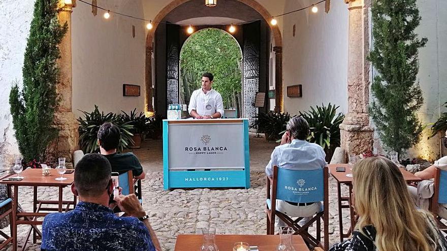 El pastelero Lluís Pérez se estrena con lo salado en los Tasts de Rosa Blanca