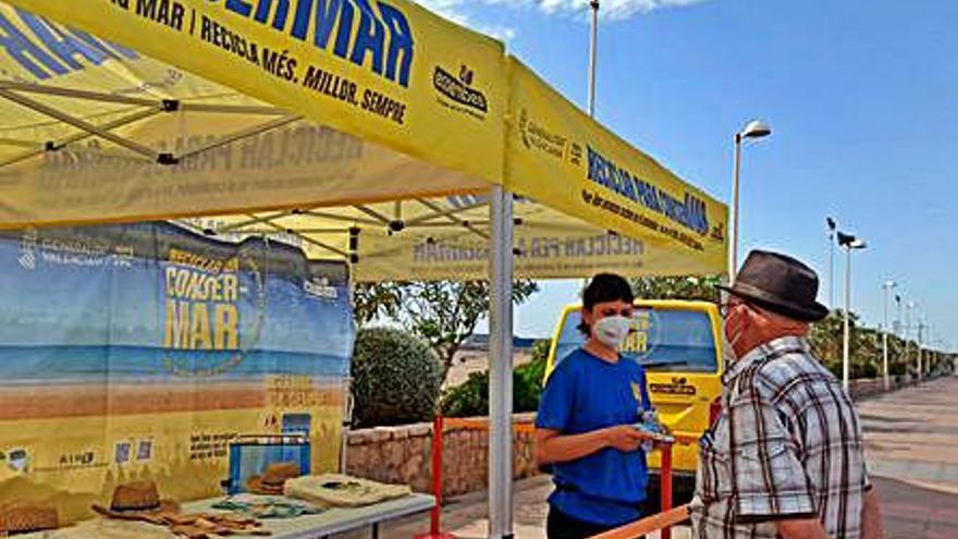 Campaña «Reciclar para conserMar» en Sagunt