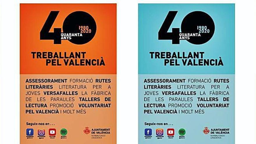 València celebra el 40 aniversari de la reintroducció del valencià en les institucions