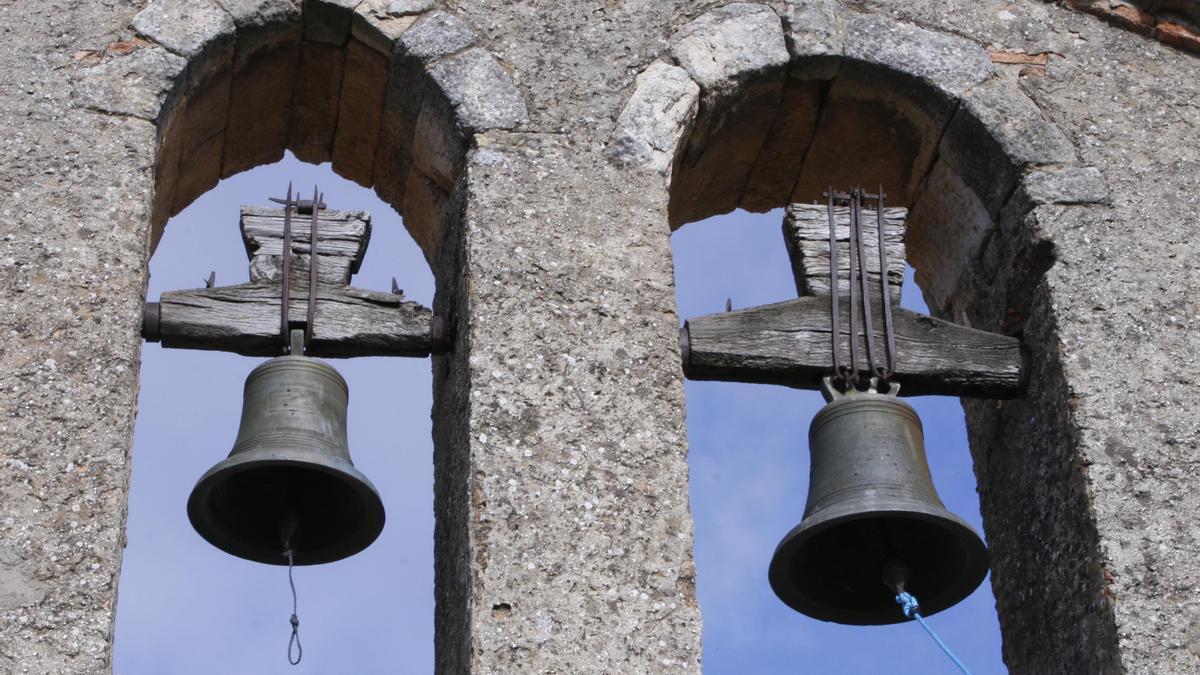 Campanario de San Pedro de la Nave (Zamora).