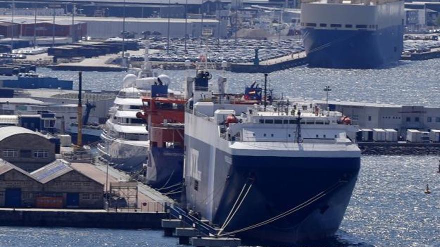 Todos los positivos del buque confinado en Vigo tienen la variante india