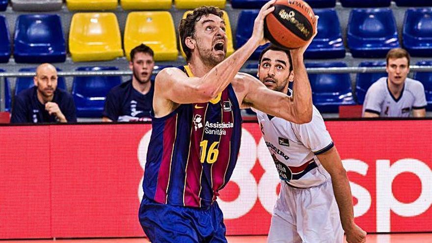 El Barça derrota un combatiu Monbus