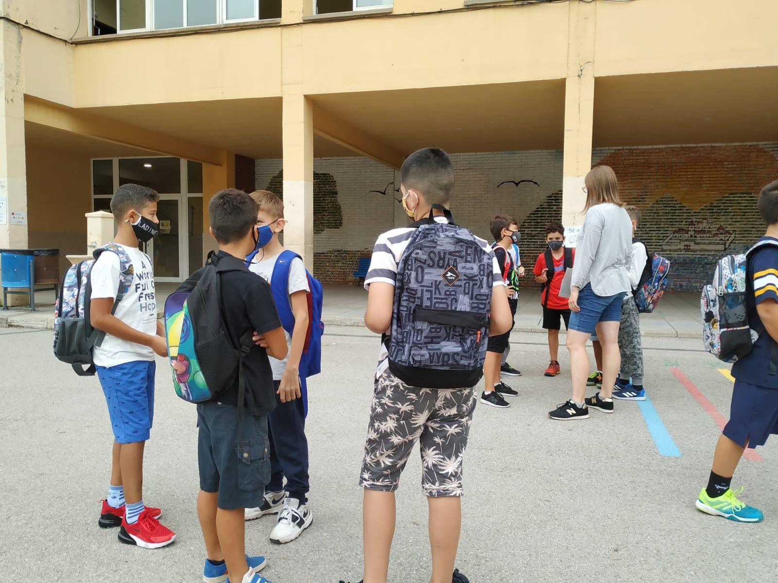 Primer dia de curs a Manresa