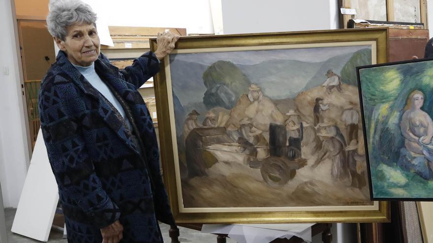 Muere la artista Elena Colmeiro