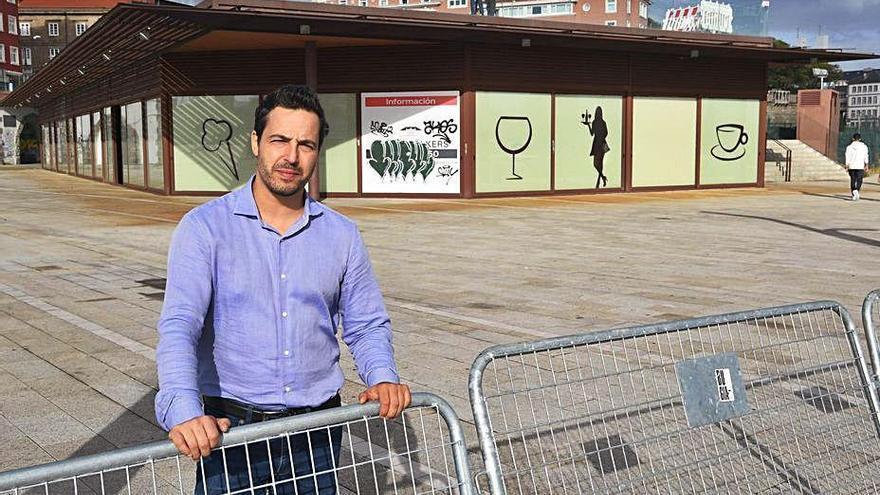 El proyecto hostelero Sóou abrirá esta semana sus dos terrazas para iniciar su actividad en O Parrote