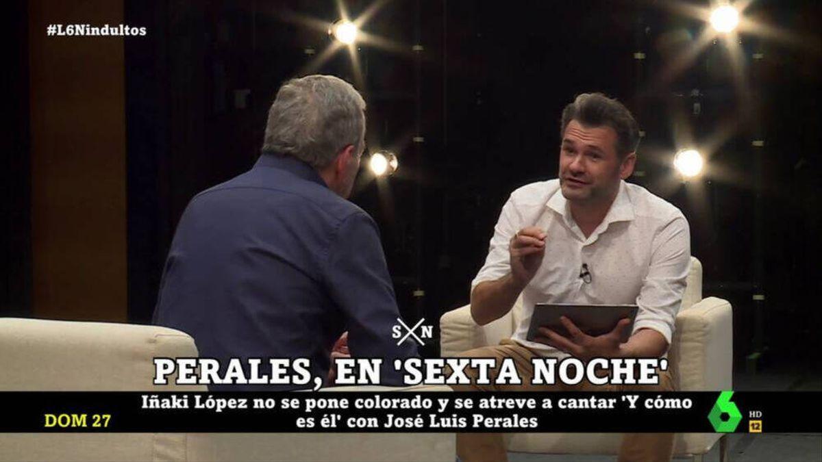 José Luis Perales and Iñaki López.