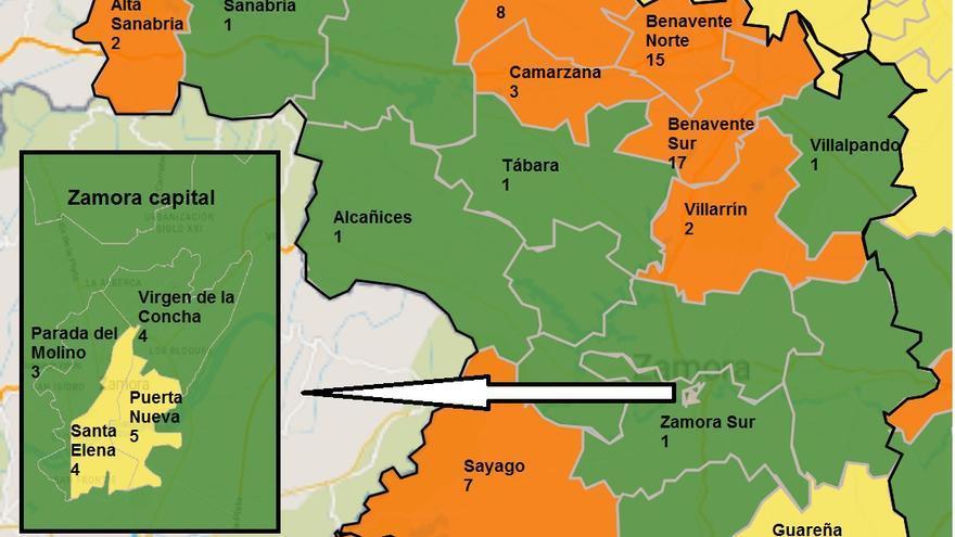 Zamora registra siete áreas donde se deben limitar los contactos por el COVID
