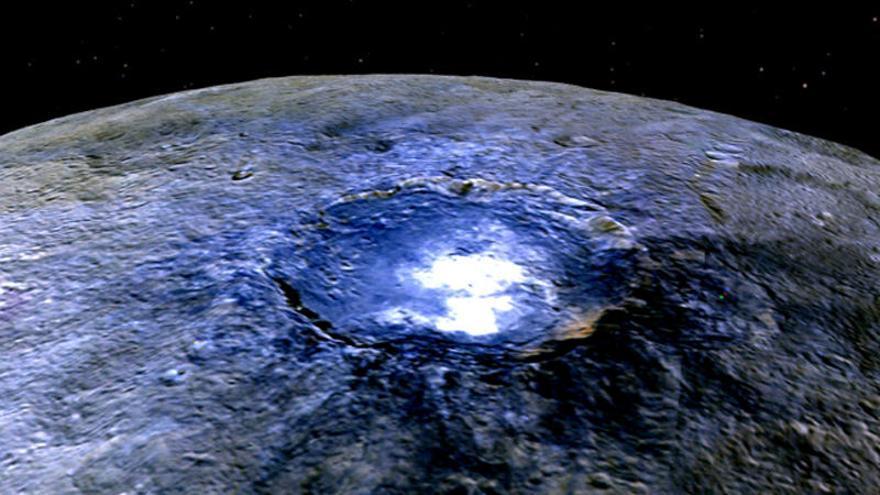 La NASA cree que el planeta Ceres podría tener vida