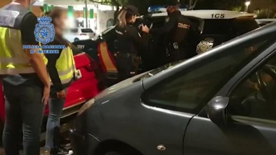 Dos detenidos en Palma por repartir droga a domicilio