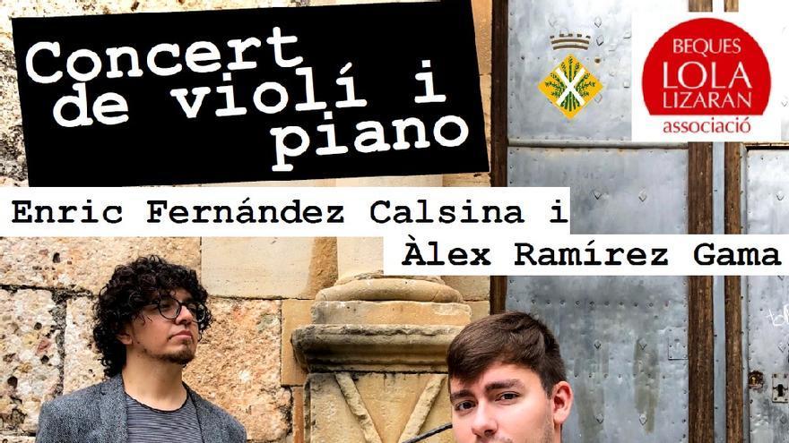 Concert: Violí i Piano