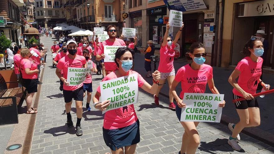 Los vecinos de las Cuencas Mineras salen a la calle para exigir una mejor sanidad rural