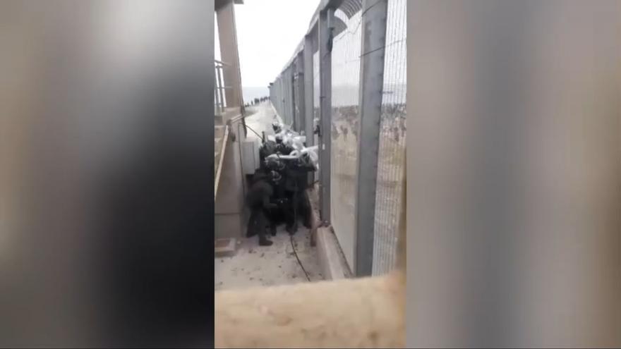 Atacan con piedras a los guardias civiles de Gijón desplazados a Ceuta