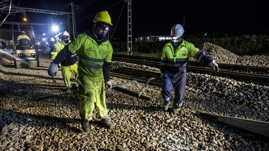 Castellón, único punto de la Comunitat sin tener vías de tren de ancho europeo