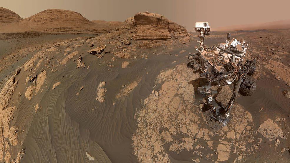 Un paseo por Marte: Las mejores imágenes del planeta rojo