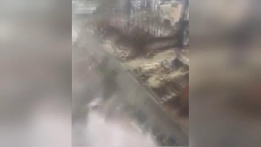 El huracán Irma baja a categoría 1 al acercarse a Tampa (Florida)