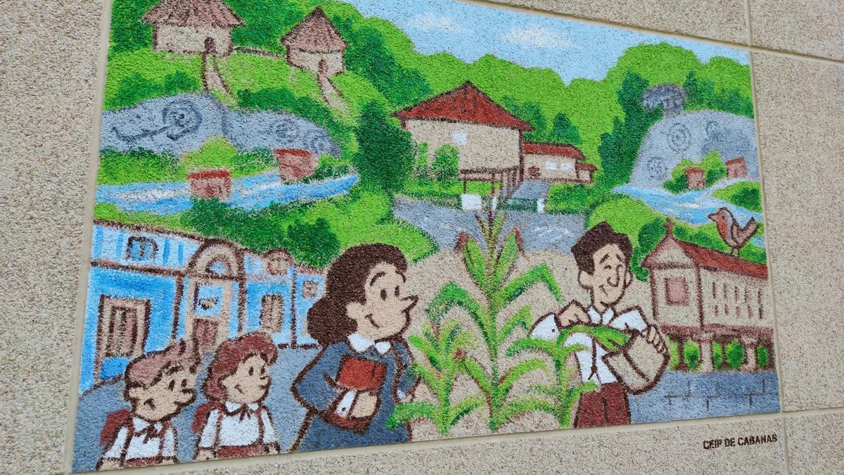 Nuevo mural en Salcedo
