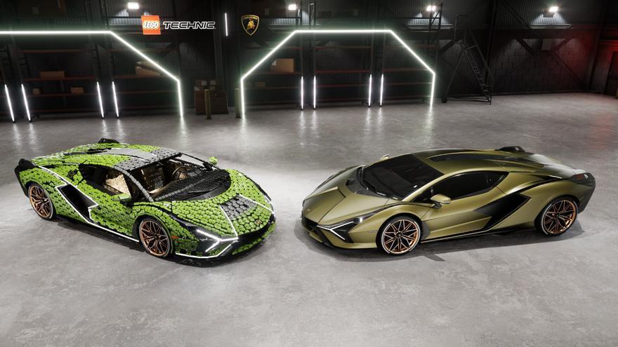Lego Technic crea un Lamborghini Sián FKP 37 a tamaño real con más de 400.000 piezas