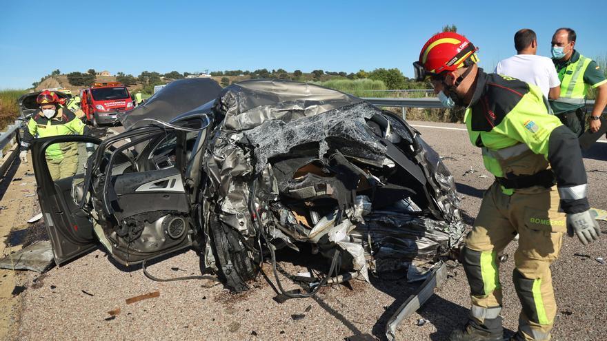 Un fallecido en un accidente de tráfico en Salamanca