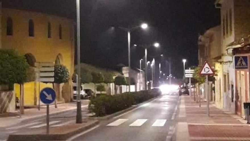 Monóvar sigue apostando por las luminarias led en todo el municipio