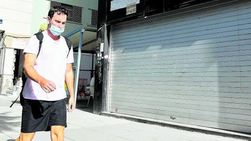 La crisis deja vacíos en Canarias más  de 27.000 locales comerciales y oficinas